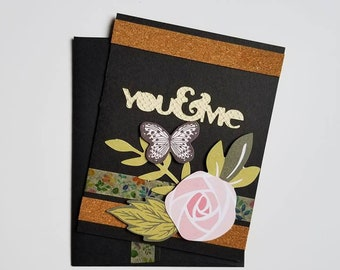 You & Me. Card. Card. Flowers. Flowers. Butterfly. Butterfly