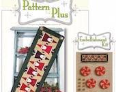 Topsy Turvey Santa Pattern Pak Plus by Happy Hollow Designs