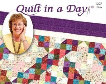 Eleanor Burns Signature Quilt Pattern Split Nine-Patch Quilt