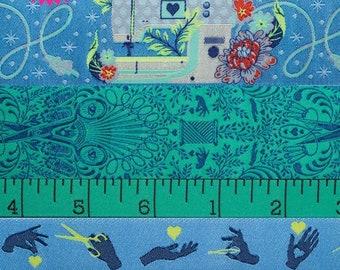 Tula Pink HomeMade Noon Designer Ribbon Pack by Renaissance Ribbons