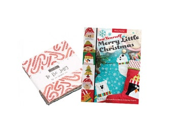 Sew Yourself a Merry Little Christmas and To Be Jolly Charm Pack Bundle