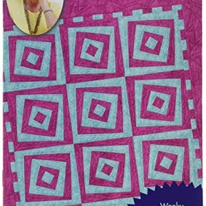 Quilt in a Day Braid in a Day Eleanor Burns Signature Pattern Stripped Overlay Jelly Roll Pattern Strip Pattern Quick Ombre