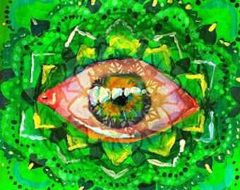 Green Bean Print