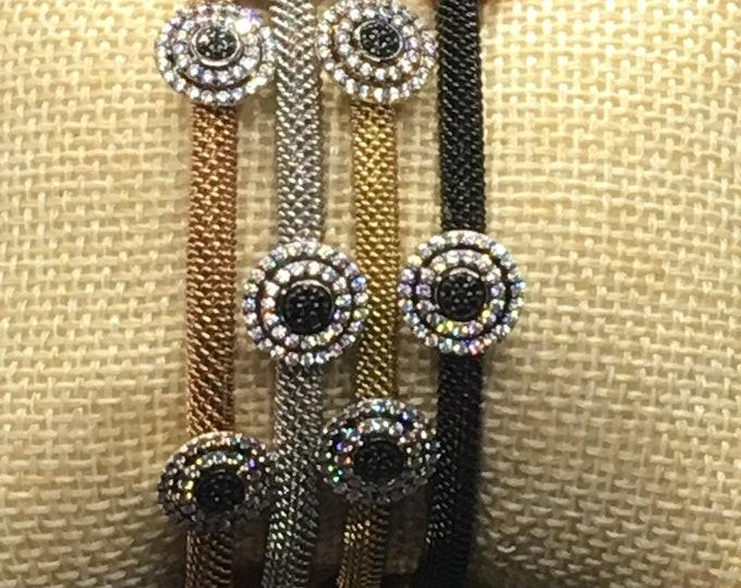 Multi Color Bracelets, Copper bracelet, Silver bracelet, Gold bracelet and Black Bracelet