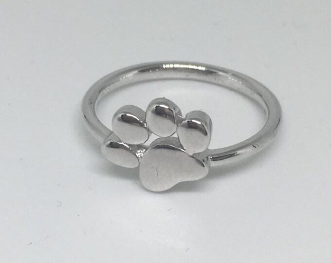 Dog Paw Ring