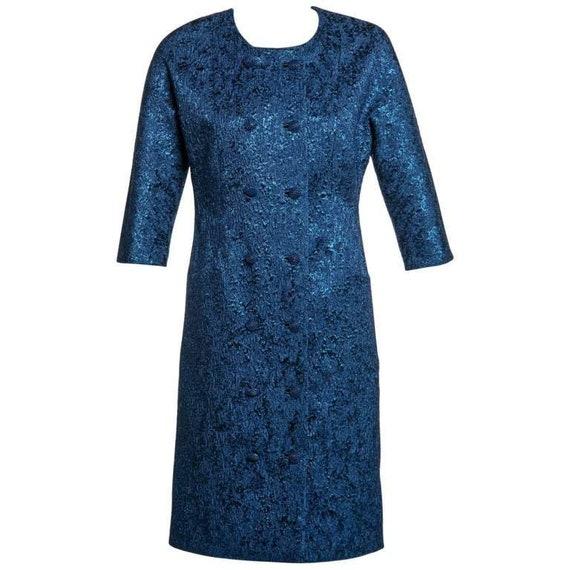 Balenciaga Edition Couture Sapphire Blue Matelassé