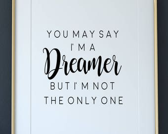 Im A Dreamer Etsy
