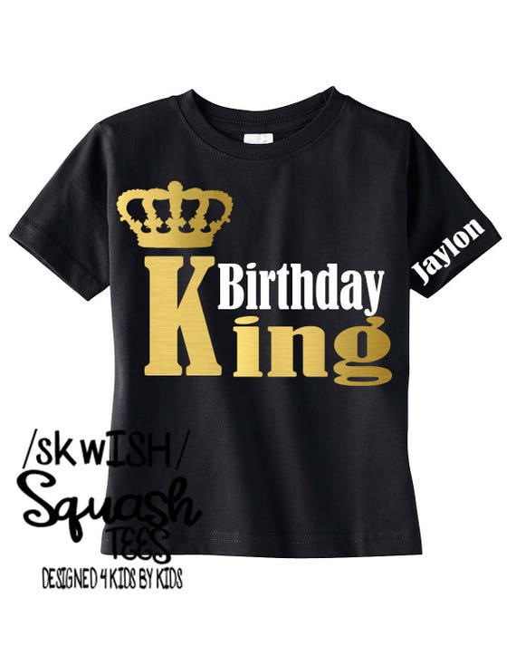 Birthday Boy Shirt ADULT Sizes Also Available Personalized