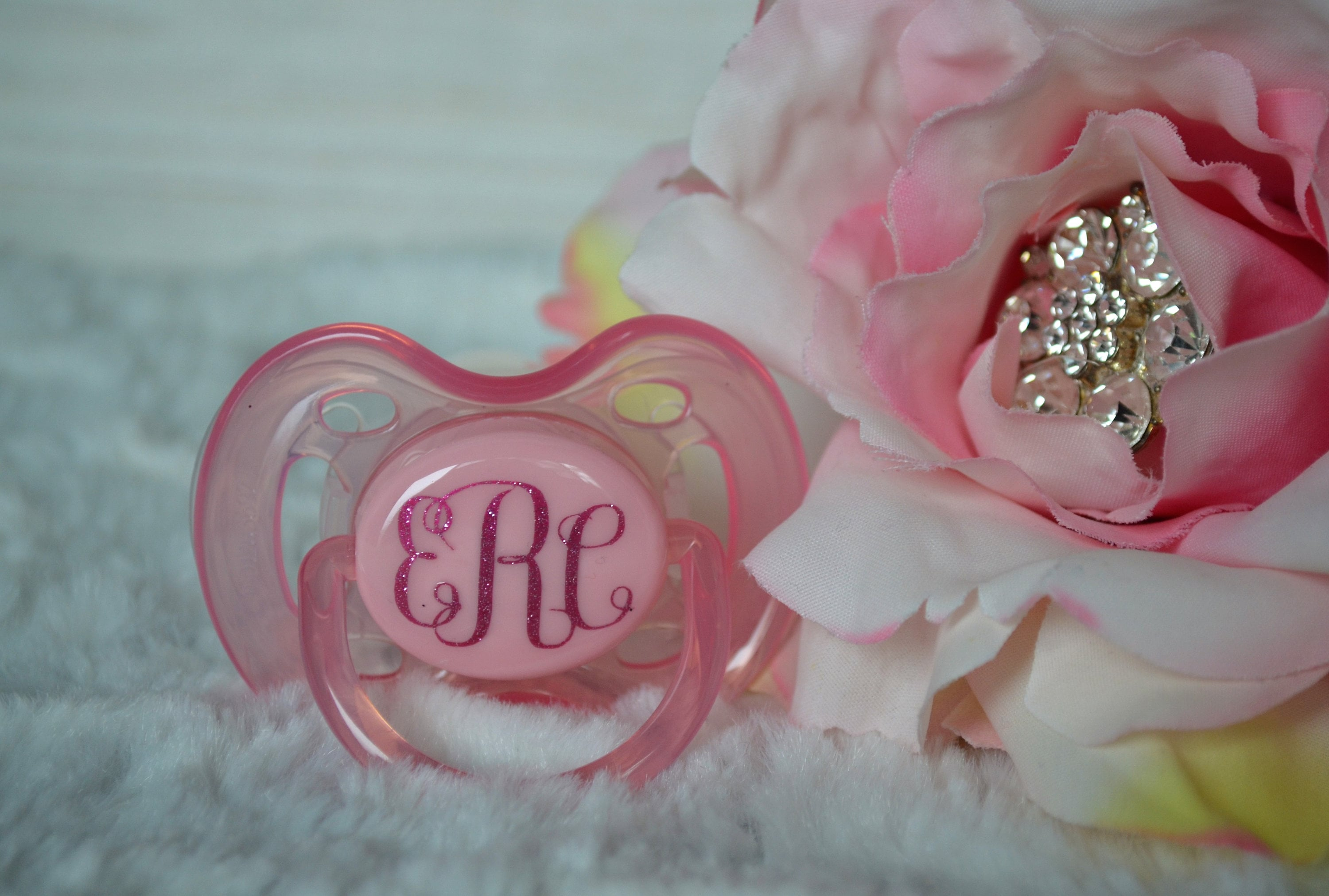 db7dfca58 Personalized Pacifier Monogram Pacifier Custom Pacifier