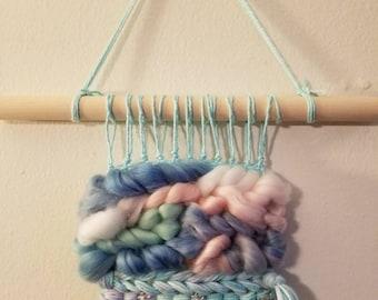 Unicorn Lovely // weaving,  wall hanging