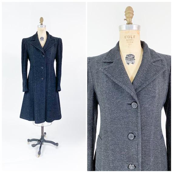 Perfect! Vintage 1940s Eyelash Wool Long Princess