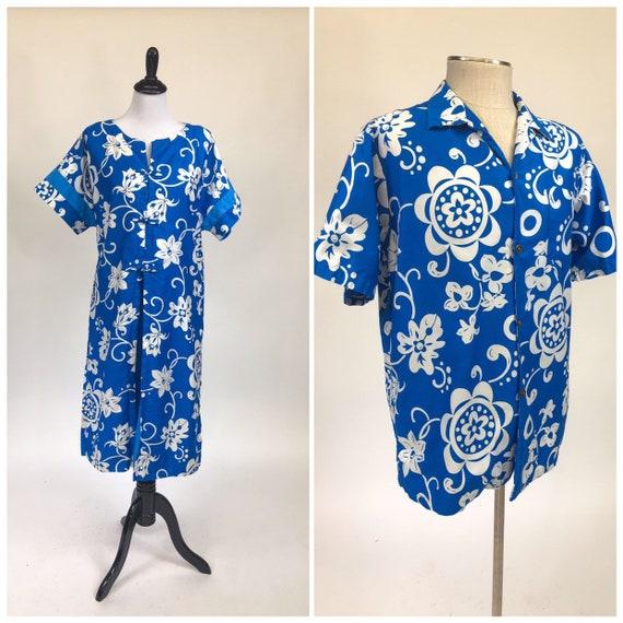Tiki Time! Vintage 1960s Royal Hawaiian Dress & Sh