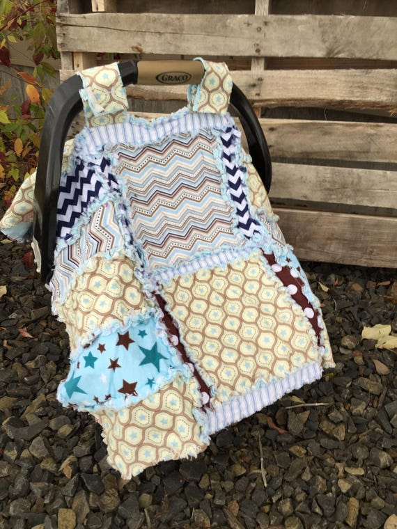 Addy Mae Rag Quilt Pattern for a Car Seat Canopy Girl Quilt | Etsy