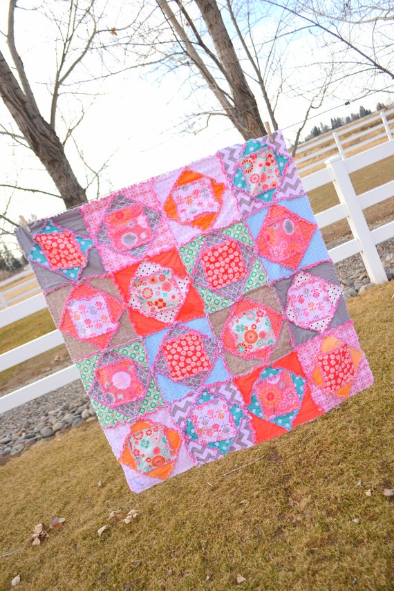 Square Dance Rag Quilt Pattern Baby Quilt Pattern Kid Etsy