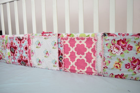 Baby Bumper Pads Sewing Pattern Crib Bumper Pattern Rag Etsy