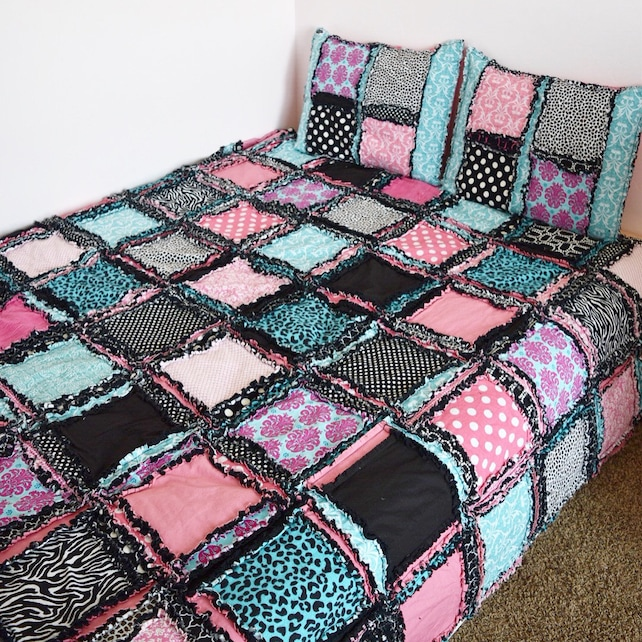 Easy Peasy Twin Size Rag Quilt Pattern Quilt Pattern Kid Etsy