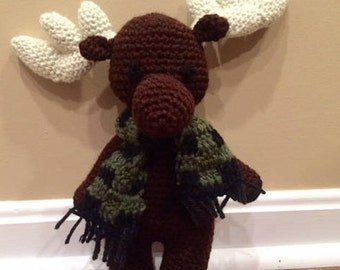 Martin the Moose Stuffed Animal/ Baby Toy