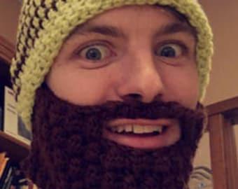 Custom Beard Hat Adult