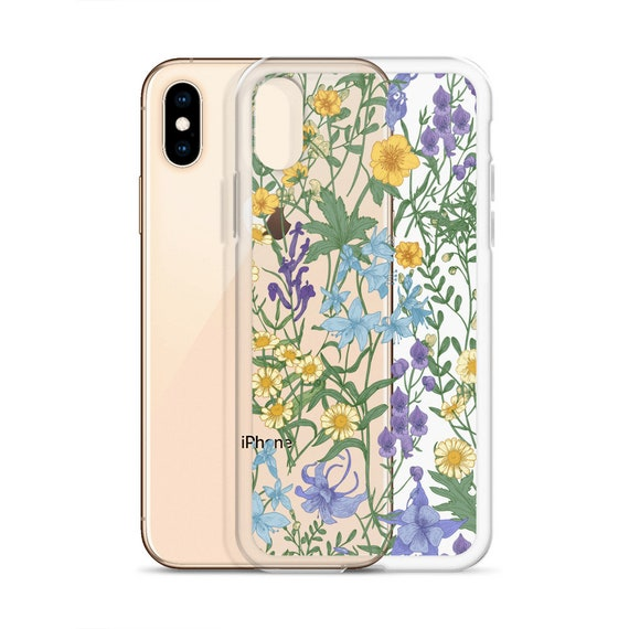 wildflower iphone xs case