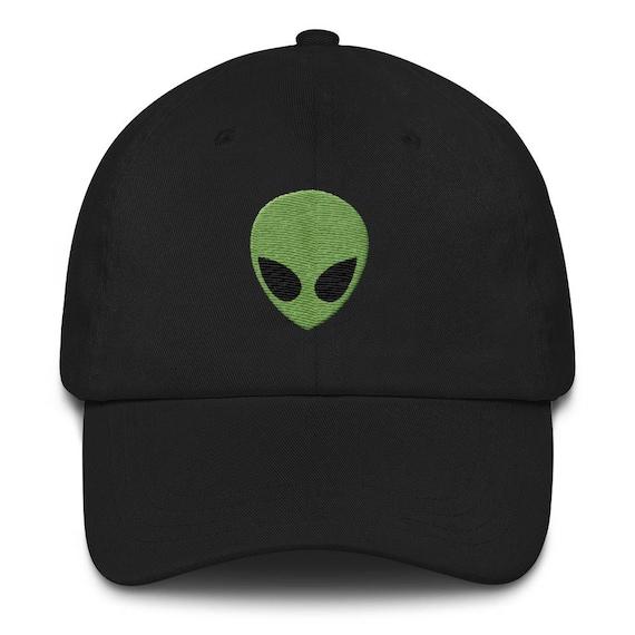 Alien Embroidered Baseball Hat Festival Dad Hat Dad Hats  d250ab8292d7