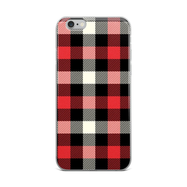 huge discount 6abc8 b721c Christmas Plaid iPhone Case, iPhone X Case, iPhone XS Case, iPhone 8 Case,  iPhone 8 Plus Case, iPhone 7 Case, iPhone 7 Plus Case, Plaid
