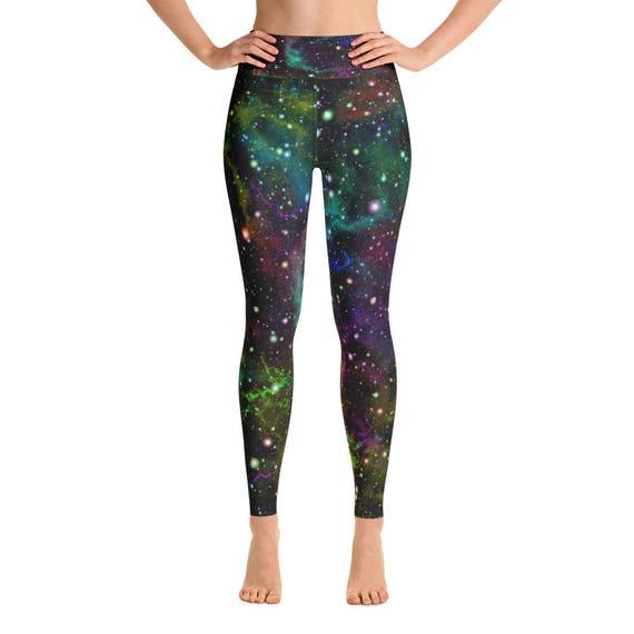 f1ed5e30b28e9 Universe Yoga Leggings, Pilates Leggings, Yoga Leggings, Yoga Pants, Yoga  Tights, Womens Leggings, Burning Man Festival