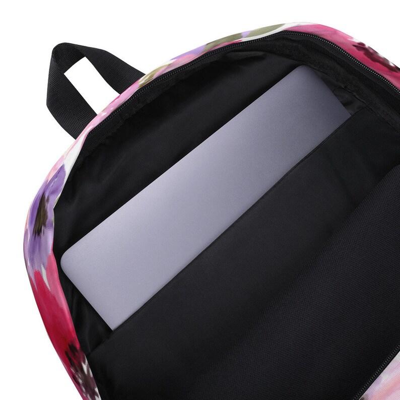 Wildflowers Backpack School Backpack Rucksack Boho Backpack Purse Backpack Backpack Women Laptop Backpack Hippie Flower Backpack