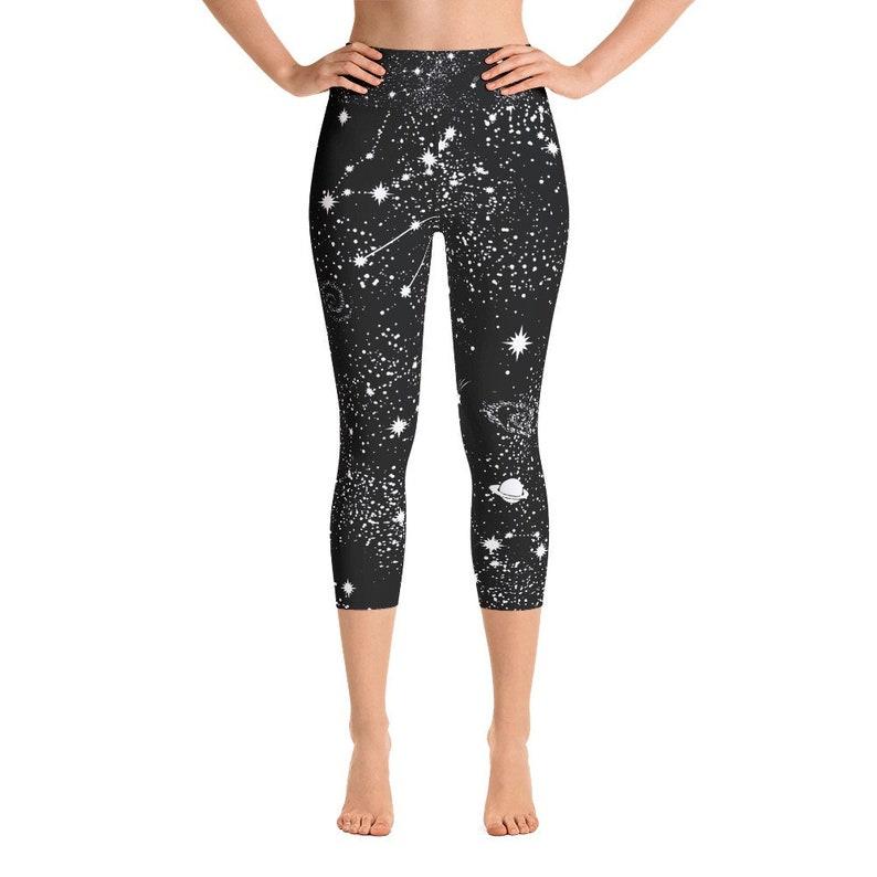 e429b1e3034 Galaxy Capri Leggings