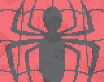 Spiderman Blanket Crochet Pattern