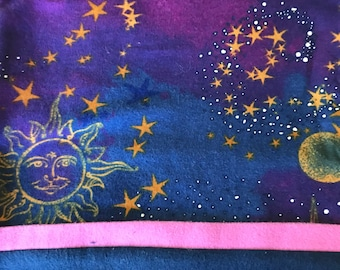 Sun and stars pillow cases