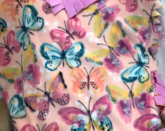 Spring Butterfly XL Throw
