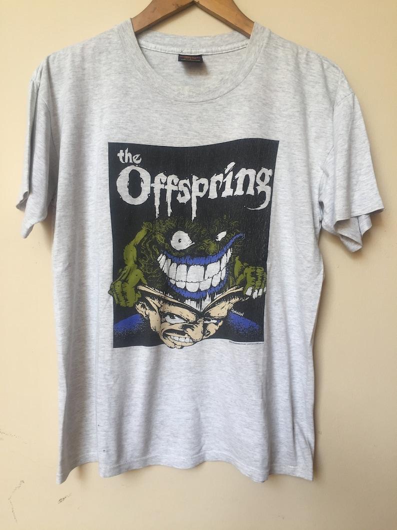 b07a140662a8 Vintage 90s The Offspring T shirt Smash Tour Tee   Brockum