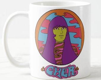 Cher Mug... Statement Mug... Mothers Day Mug... Mothers Day Gift... Music Lover Gift... Women in Music... Women in Film