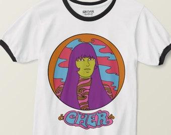Cher T Shirt... Cher Shirt... Gift For Her... Gift For Woman... Pop Culture Shirt