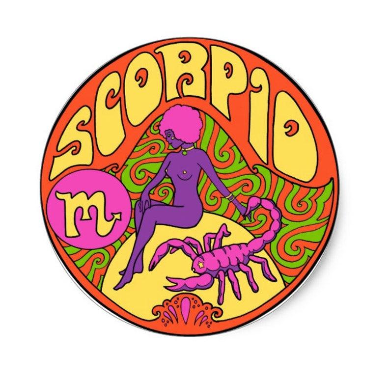 Scorpio  Sticker    Zodiac Sign   Vinyl     Laptop   Stickers   Decal   Water  Bottle   Horoscope   Astrology   Zodiac    Gift   Grateful Dead