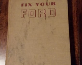 Fix Your Ford hardcover book 1963