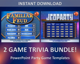 Family feud game   Etsy