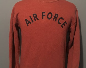 b7d2783f9 Vintage Air Force USA America Armed Forces 1980s Crewneck Sweatshirt / Air  Force Academy / vintage sweater XSmall