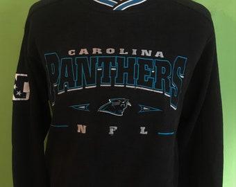 Vintage Carolina Panthers Lee Sport NFL Football Sweatshirt   vintage nfl    football sweatshirt   super bowl Medium e71995d81