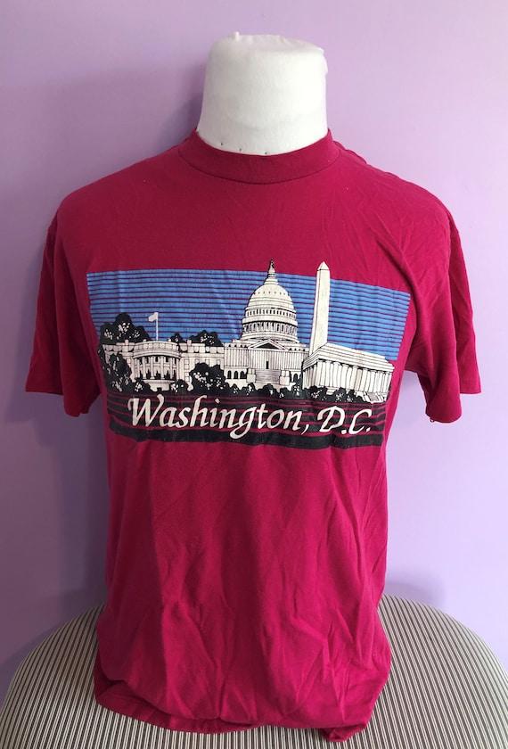 Vintage 1980s Washington DC 80s travel tourist vac