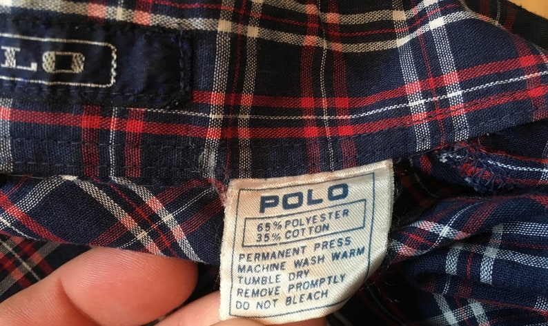 Color Plaid Pearl Snap Western Button Down Shirt  Cowboy Shirt  Western Snap shirt  80s vintage shirt Medium Vintage Polo Multi