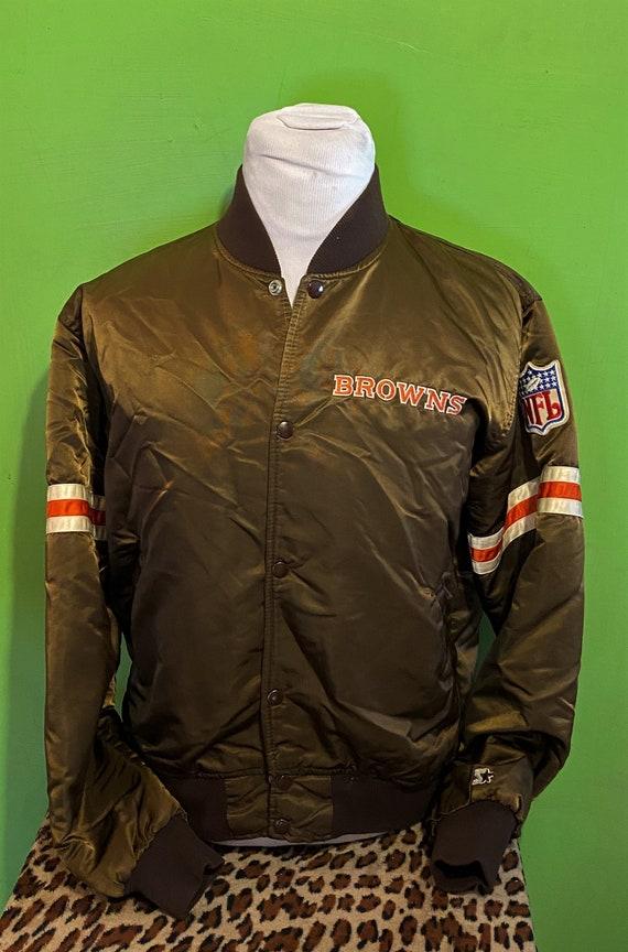 Vintage 80s Cleveland Browns Starter NFL Football