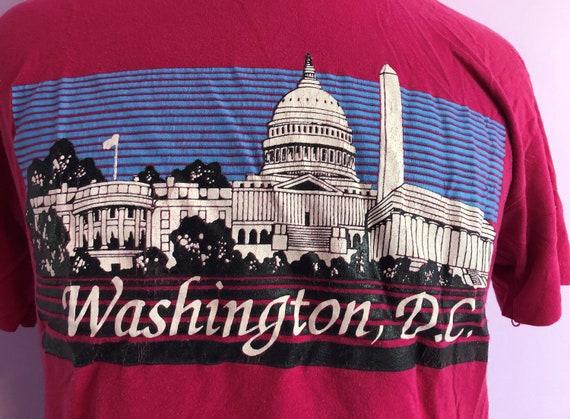 Vintage 1980s Washington DC 80s travel tourist va… - image 3