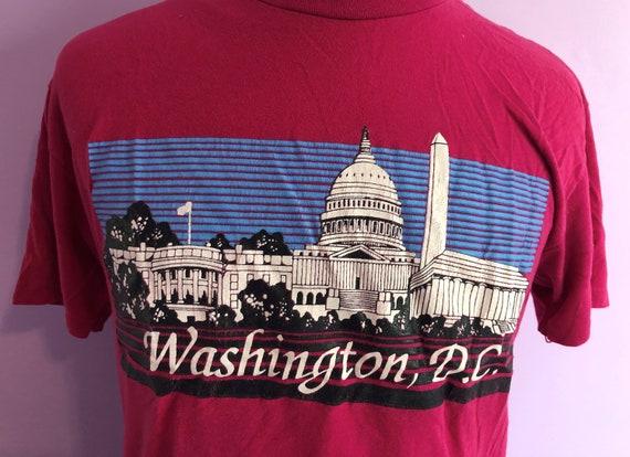 Vintage 1980s Washington DC 80s travel tourist va… - image 2
