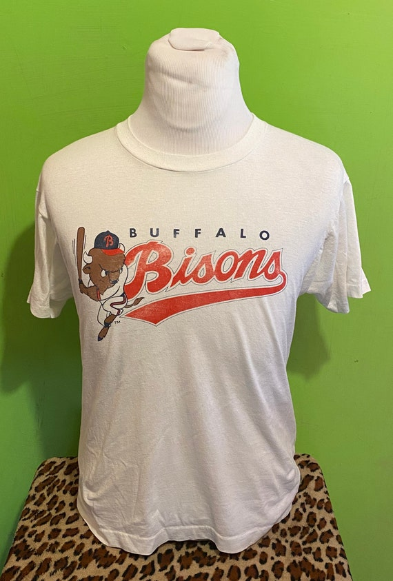 Vintage 80s Buffalo Bisons New York Screen Stars 1