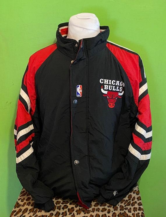 Vintage 90s Chicago Bulls Starter 1990s NBA Basket