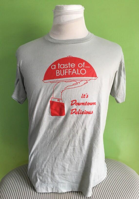Vintage A Taste of Buffalo New York 1980s t-shirt