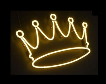 more colors crown neon sign - Neon Signs For Bedroom