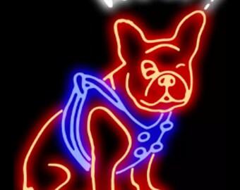 Woof Neon Sign