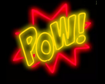 Pow! Neon Sign